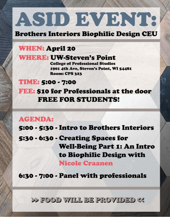 Brothers Interior Biophilic Design CEU