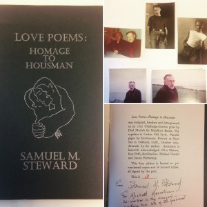 Signed letterpress poetry and selection of original photographs