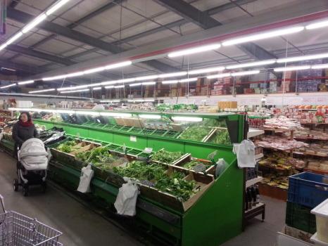 Supermarkt im Dong Xuan Center