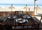 Mombassa cafe-restaurant, Plage Rmilate, Asilah
