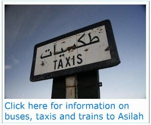 Buses, trains and taxis - local travel - AsilahInfo