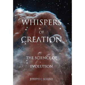 Whispers of Creation written by Joseph Boone, Published by A Silver Thread Publishing. Hardbound. $69.95