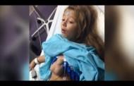 شاهد بالفيديو قلبها خارج جسدها وما زالت على قيد الحياة منذ 8 سنوات