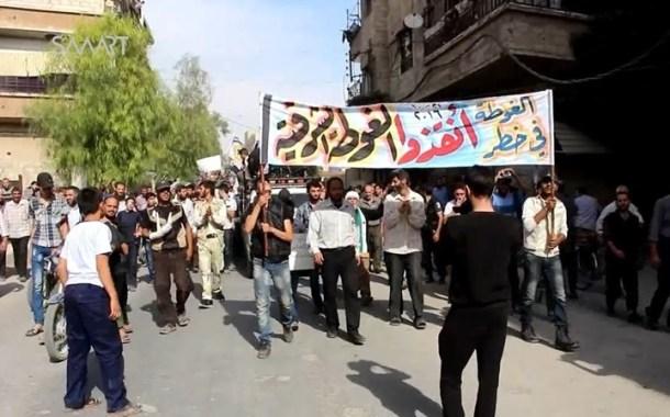 الغوطة الشرقية تخشى سيناريو التهجير بعد إحكام الحصار