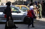 إخلاء الدفعة الثانية من سكان برزة بدمشق وتشديد حصار الغوطة