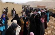 نازحون سوريون يعودون من عرسال اللبنانية الى ريف دمشق