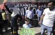لاجئون سوريون يطالبون بالالتحاق بأسرهم في أوروبا