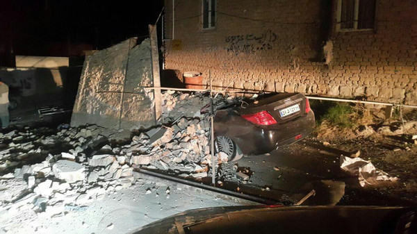 زلزال يهز العراق.. ويحصد أكثر من 200 قتيل في إيران
