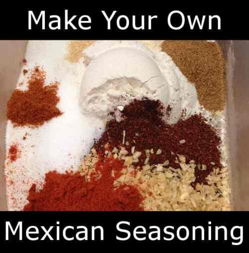 taco seasoning Mexican