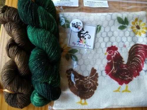 Dye Monkey Pop-up shop (at Unwound Artisan yarn shop)