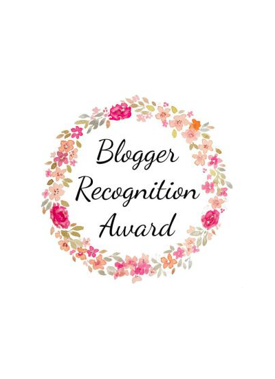 I'VE BEEN NOMINATED | BLOGGER RECOGNITION AWARD