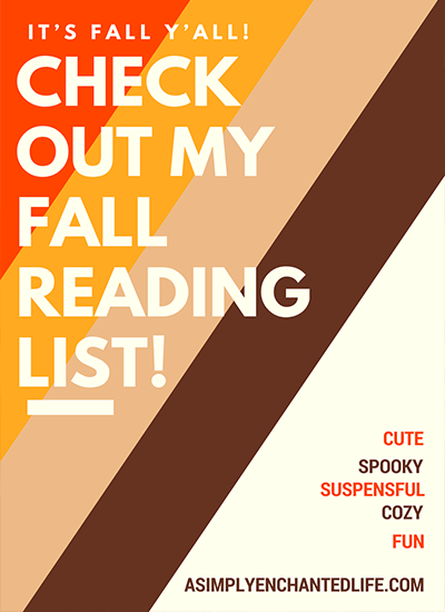 Five Books to Read this Fall!