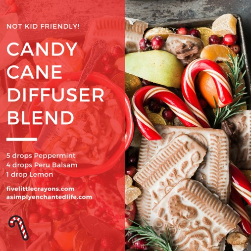 Candy Cane Diffuser Blend