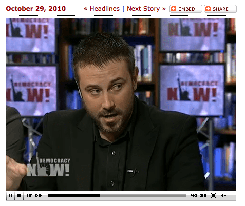 Jeremy Scahill On DemocracyNow! (Click Image To Go To Interview)