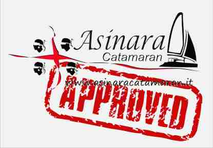 asinara catamaran approved