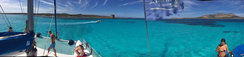 panoramica asinara catamarano sardegna charter
