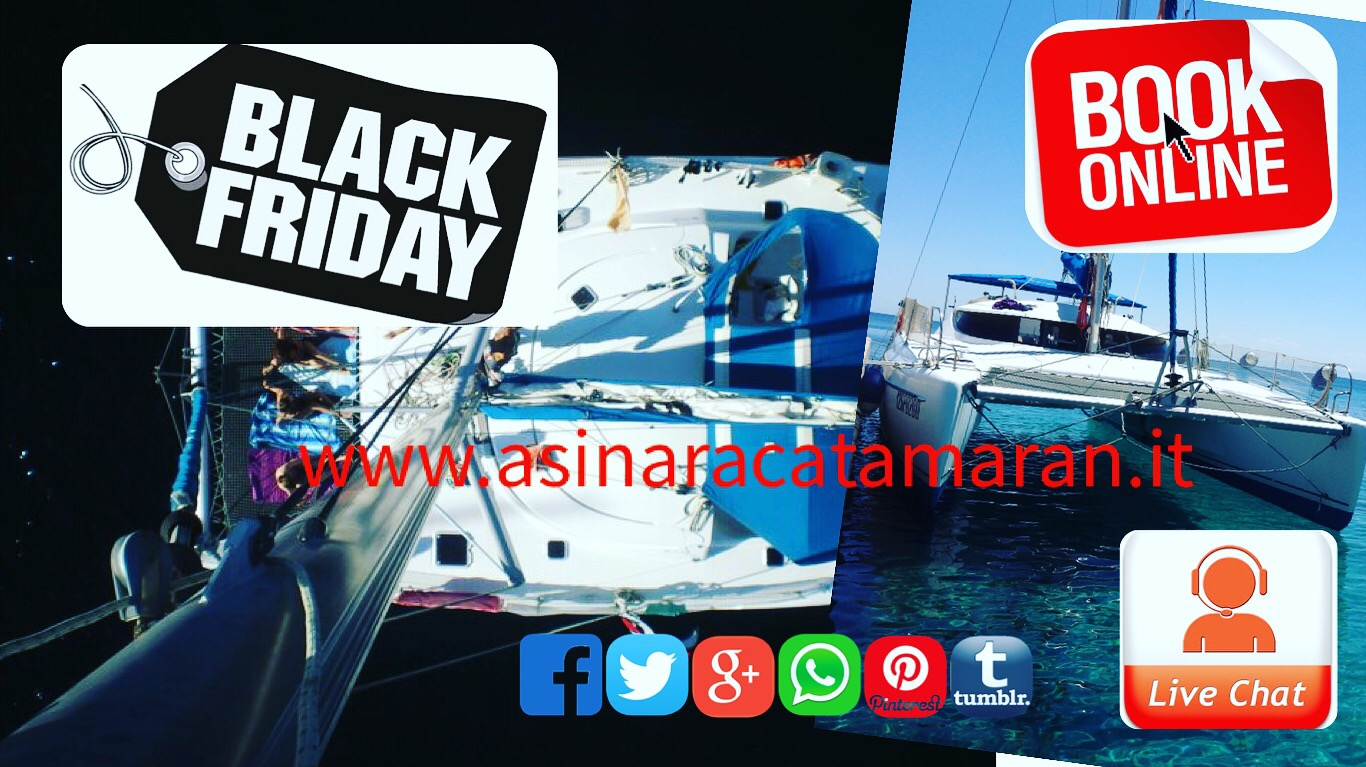 BLACKFRIDAY di asinara Catamaran