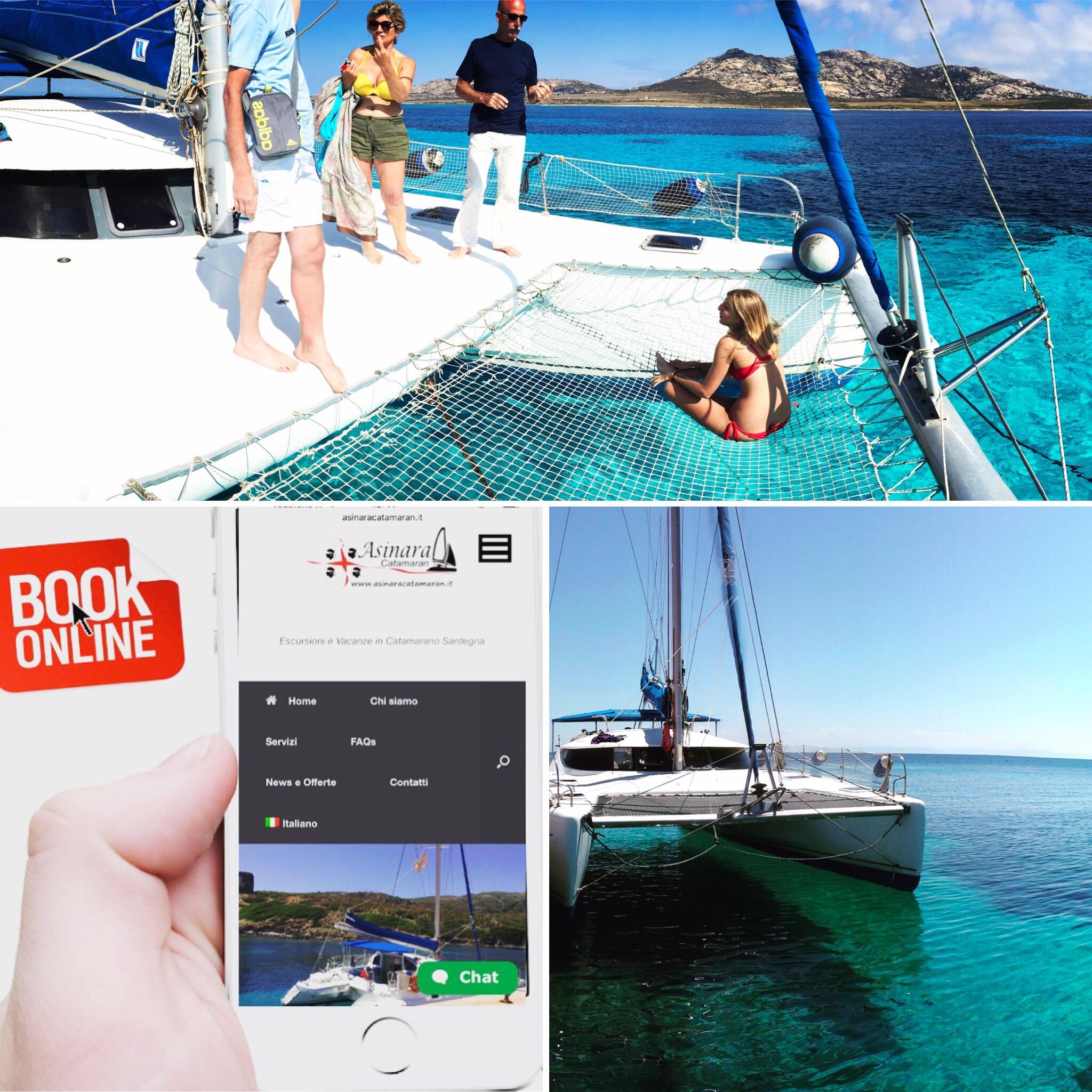 Prenotazione Vacanza in Catamarano e escursione all'Asinara