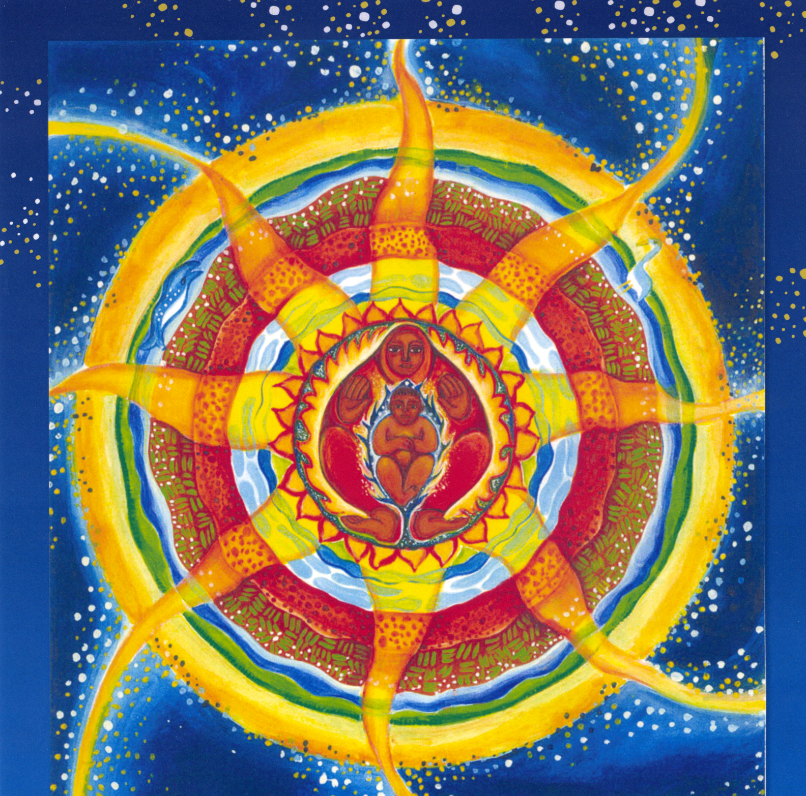 The Divine Mother Amp Child Central In The Eightfold Path