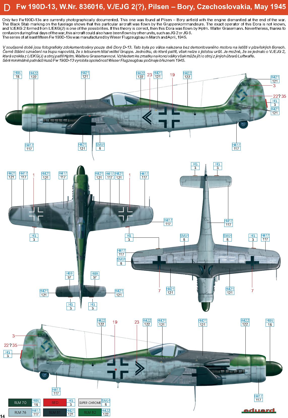 Asisbiz Focke Wulf Fw 190d13 I Ekg J Wnr Walter