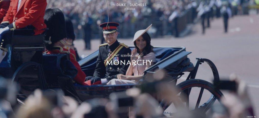 Η αποχαιρετιστήρια ανάρτηση του πρίγκιπα Χάρι και της Μέγκαν Μαρκλ
