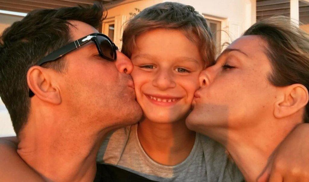 Σάκης Ρουβάς – Κάτια Ζυγούλη: Γιορτάζουν τα γενέθλια του γιου τους, Αλέξανδρου