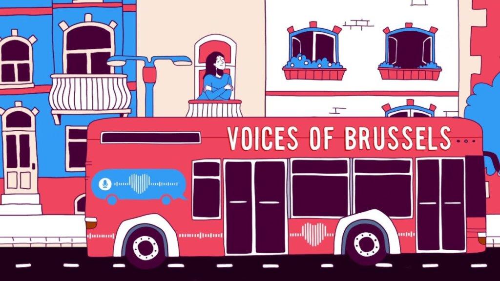 Ένα λεωφορείο βγαίνει στους δρόμους και μεταδίδει μηνύματα αγάπης