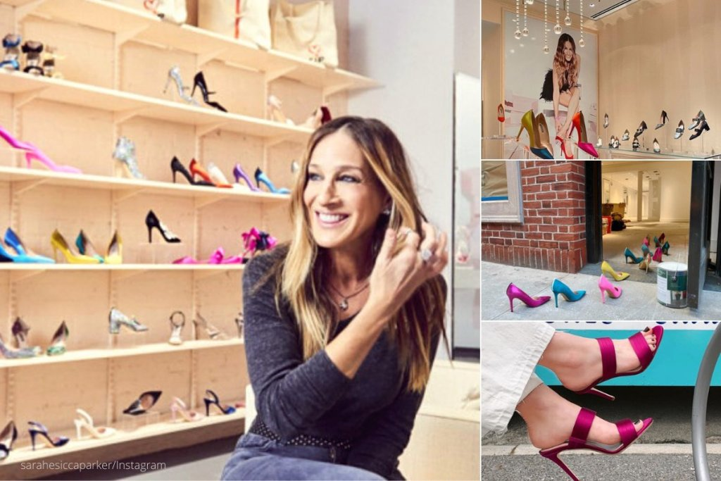Σάρα Τζεσικα Πάρκερ: Η νέα της μπουτίκ με παπούτσια και αξεσουάρ