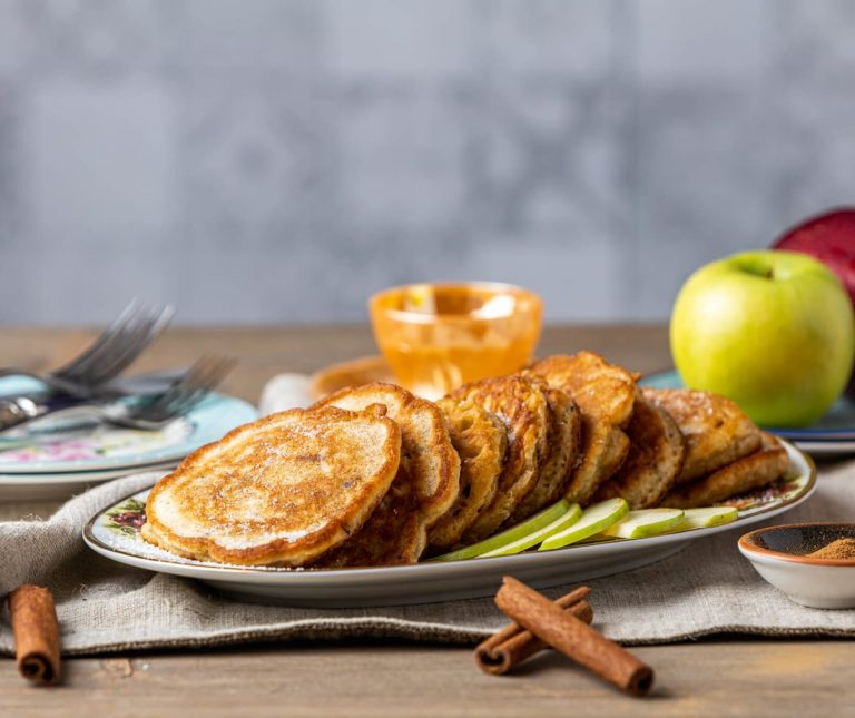 Μυρωδάτες τηγανίτες μήλου