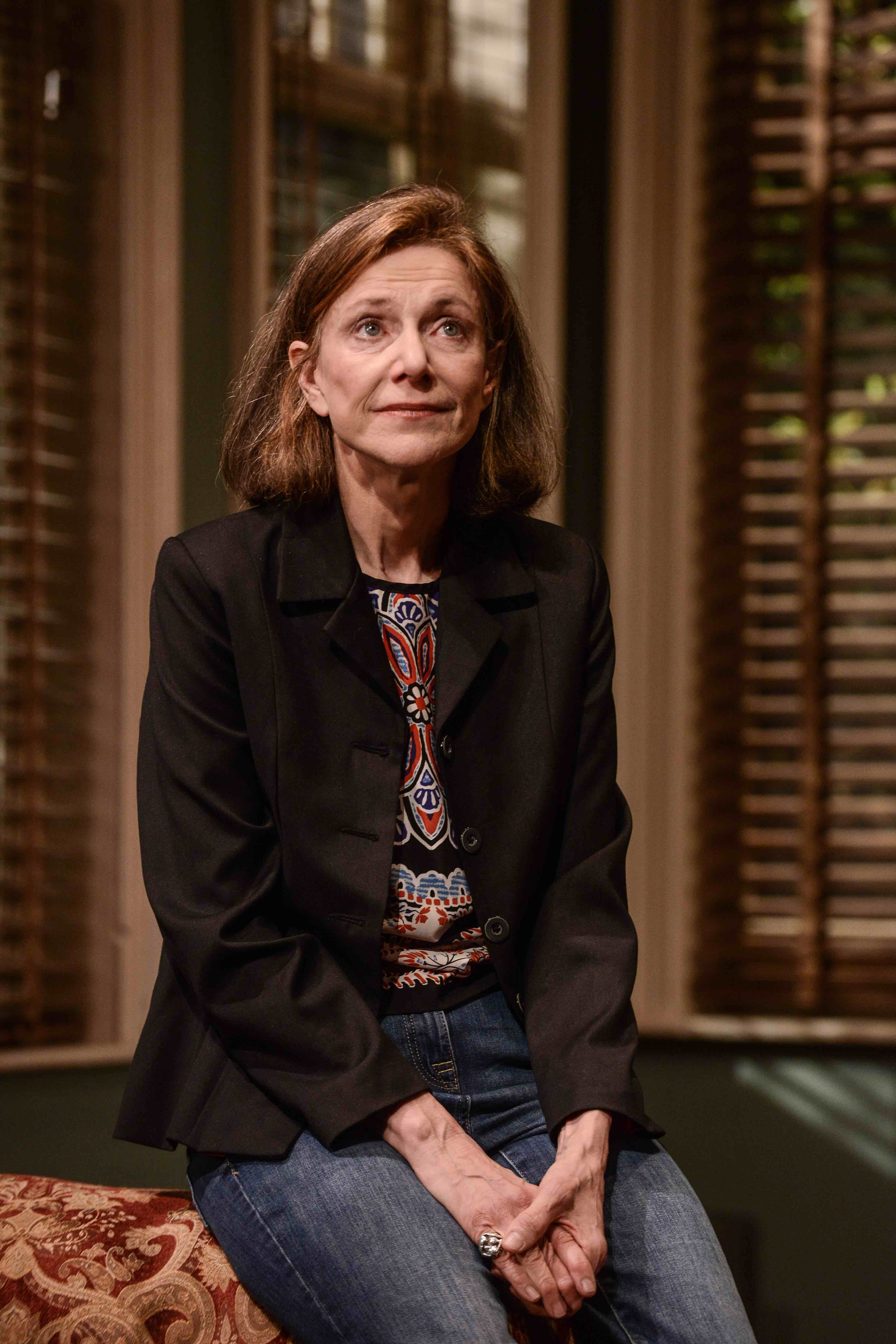 Belinda Lang: playing Duet for Ones Stephanie, Theatr