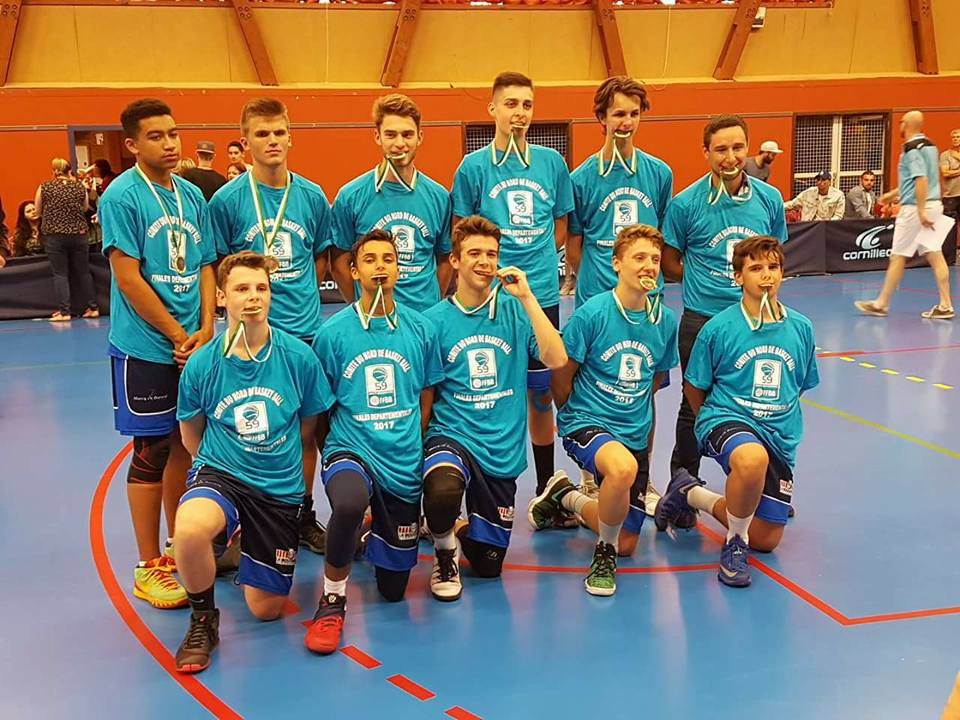 Cadets champion département 2017