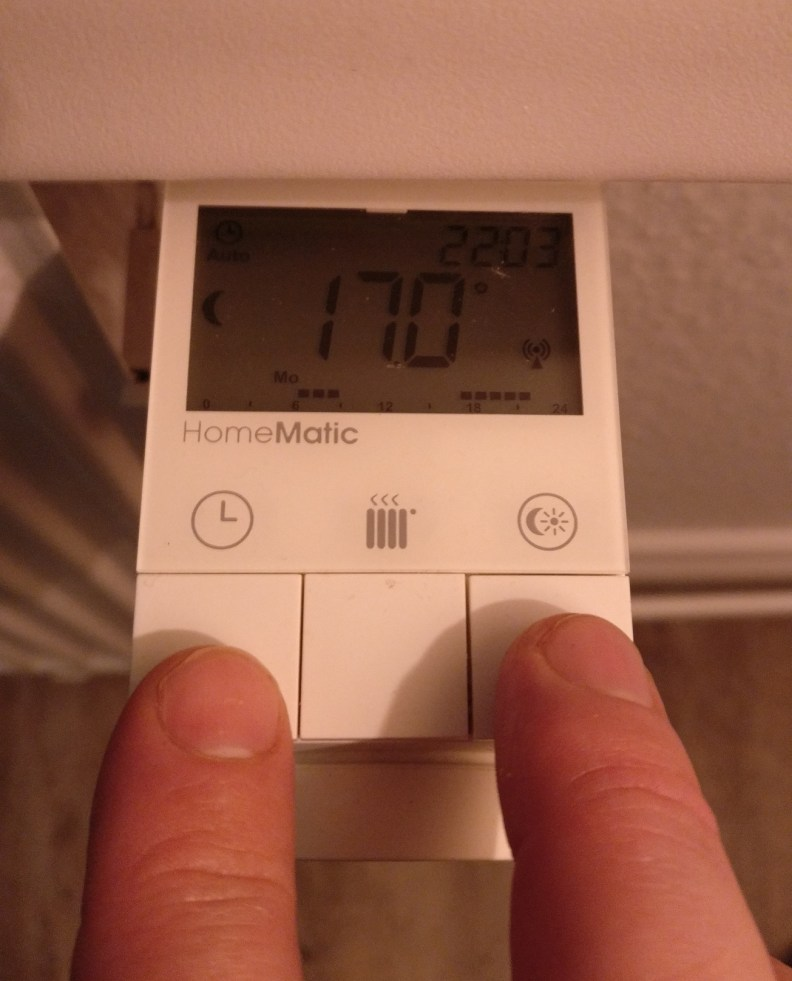 HomeMatic Thermostat Firmwareupgrade
