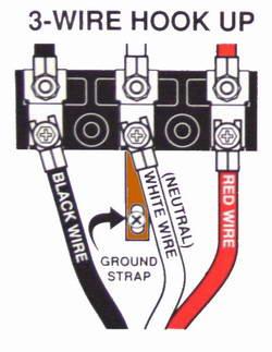 Wiring a Range Power Cord
