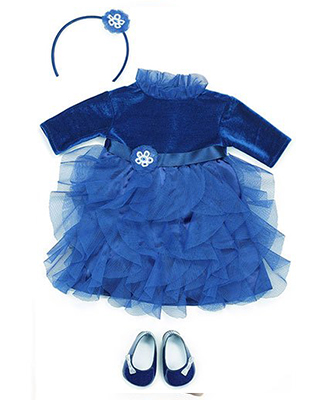 AMY'S-BLUE-PARTY-DRESS