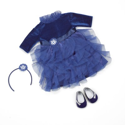 Amy Blue Party Dress