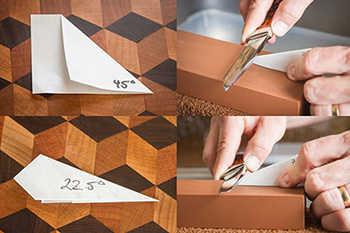 22 degrees knife sharpening