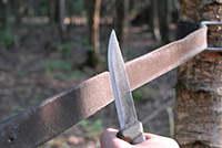 Knife Sharppening leather