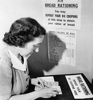 Bread-rationing-introduced-1946- The Survival Foods That Kept The British Alive During The Nazi Blockade