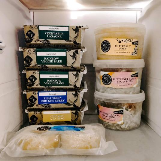 My current freezer situation