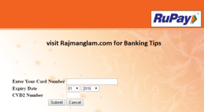 How To Use Rupay Card for Online Payment or Shopping ?