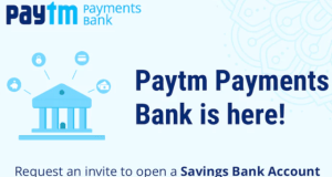 paytm payment bank