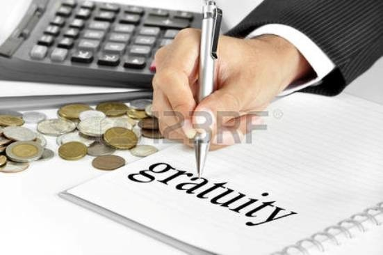 Gratuity revised bankers