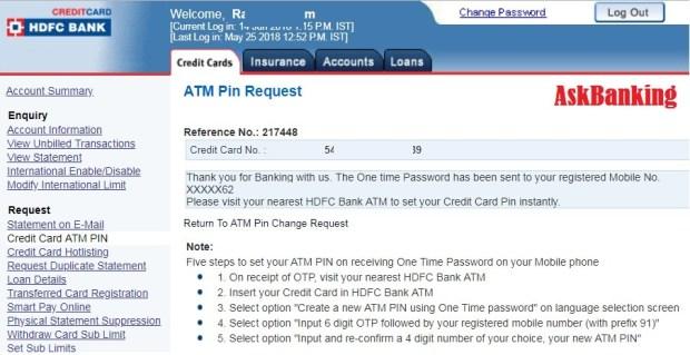 HDFC-Credit-card-PIN-reset1