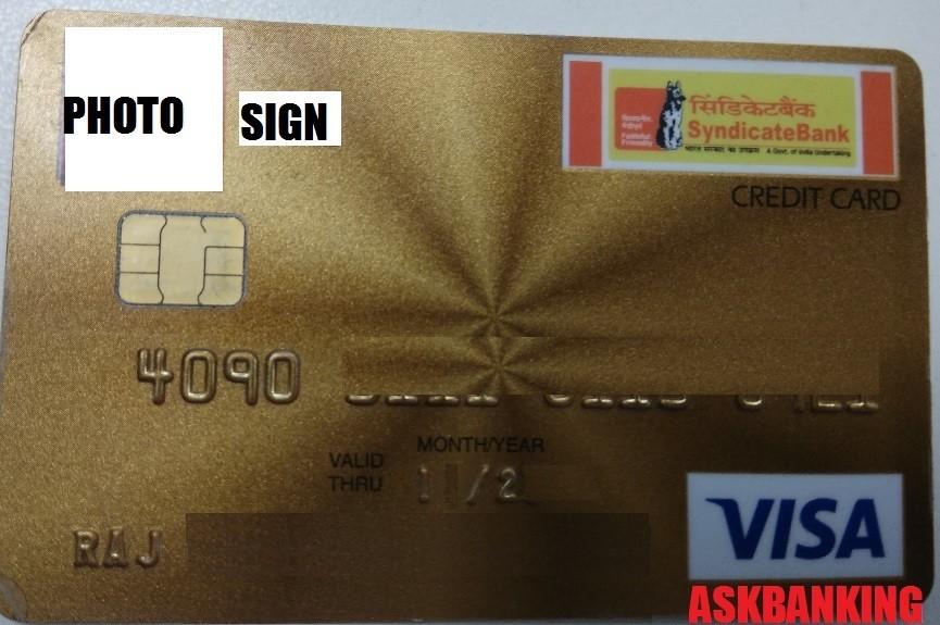 Syndicate Bank Credit Card