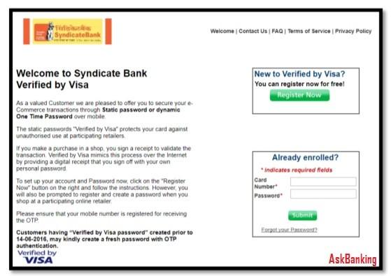 Syndicate-Bank-Verified-By-VISA