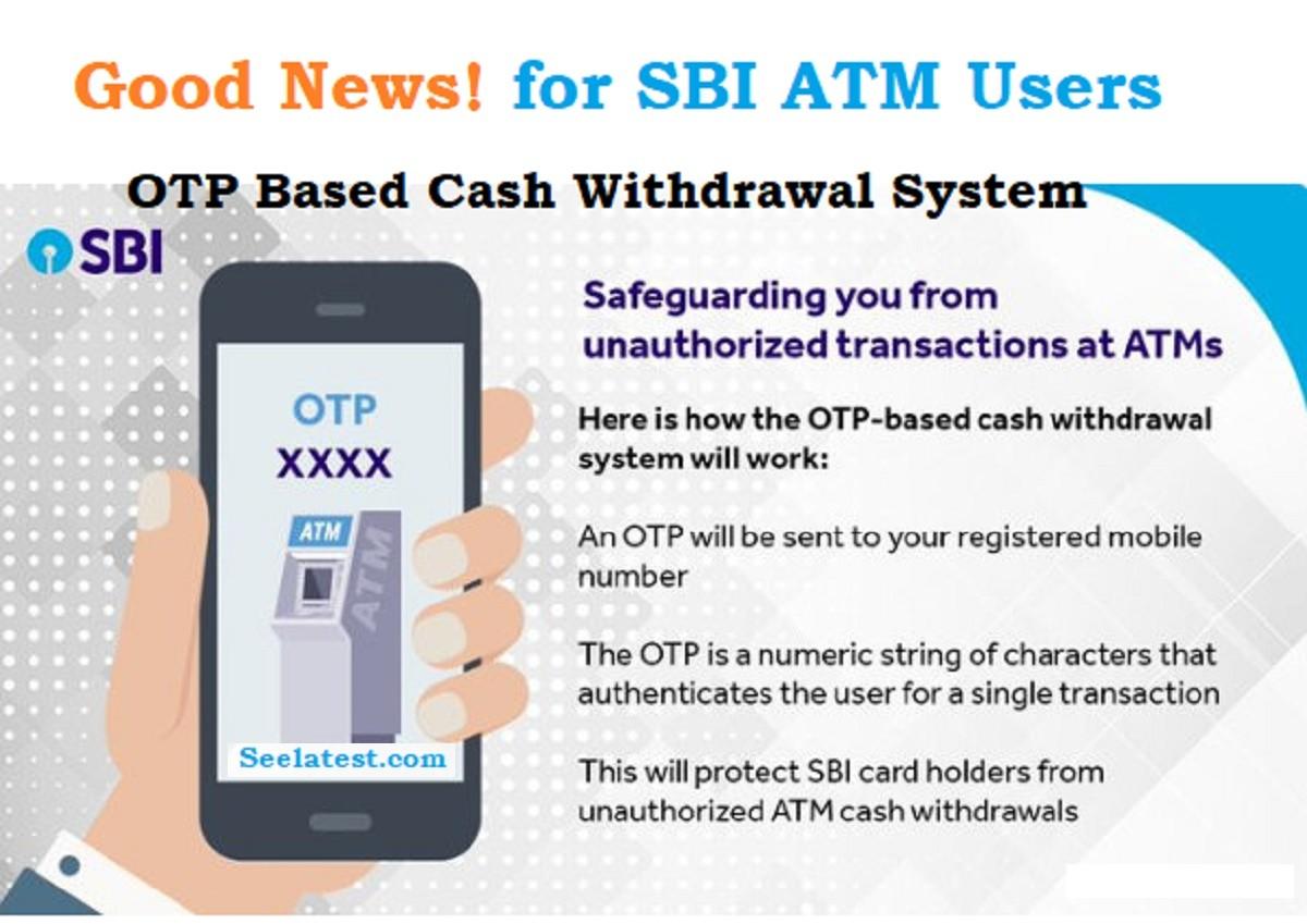SBI ATM OTP Withdrawal