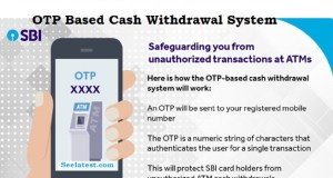 SBI ATM OTP Withdrawal