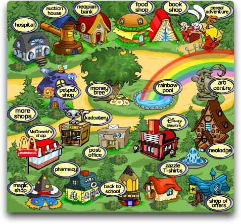 Welcome To Neopets Neopia 25 Million Strong Analysis From Intuitive Stories