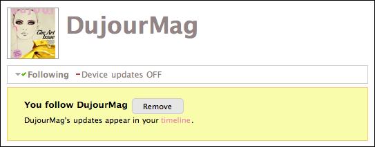 twitter dujourmag profile following remove