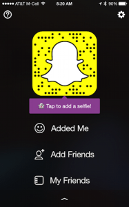 Change my Snapchat account name or delete my account    Ask Dave Taylor logged in to snapchat  apple ios 8 iphone android